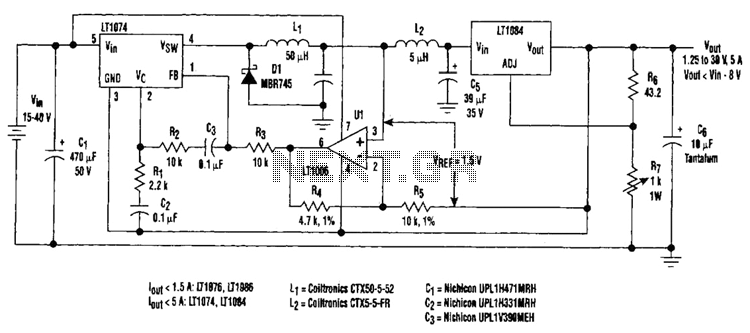 Regulator Loss Cutter Circuit