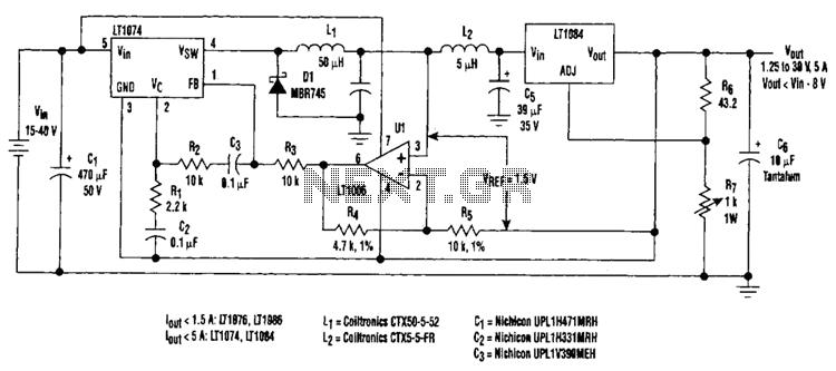 Regulator Loss Cutter Circuit - schematic