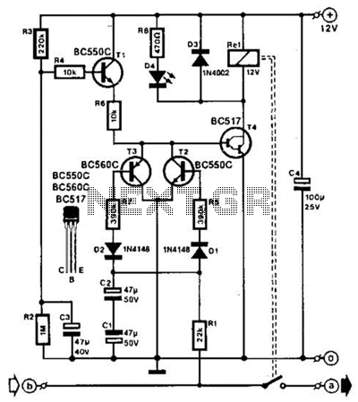 Speaker Protection Circuit Circuit - schematic