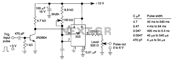 Add-On Pulse Generator Circuit - schematic
