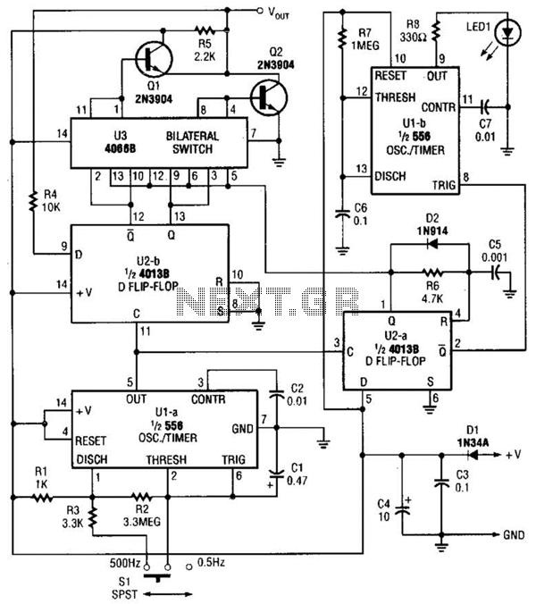 Logic Pulser Circuit