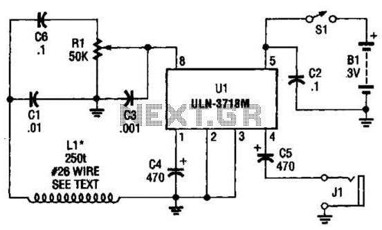 Vlf Whistler Receiver Circuit - schematic
