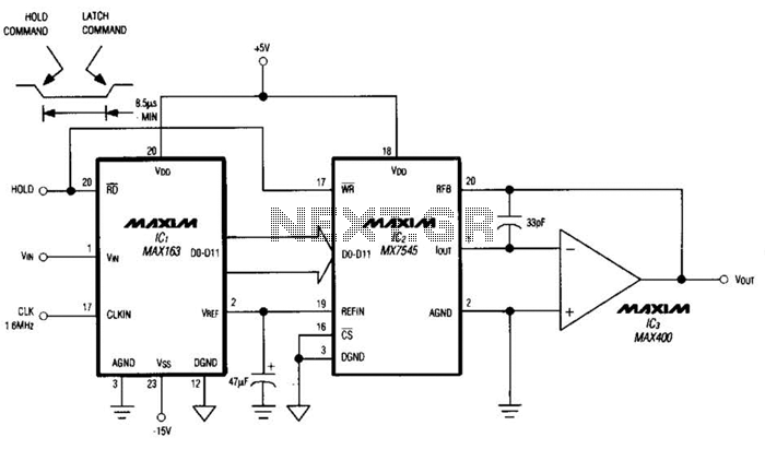 Sample-And-Hold Circuit Ii Circuit - schematic