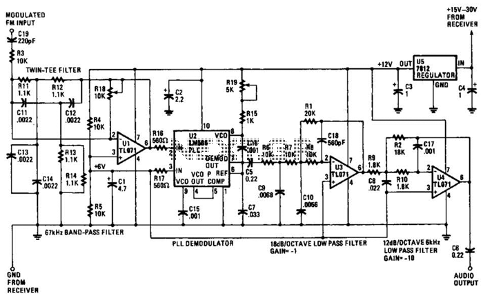 Subcarrier Adapter For Fm Tuners Circuit - schematic