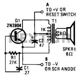 Low Level Sounder Circuit - schematic