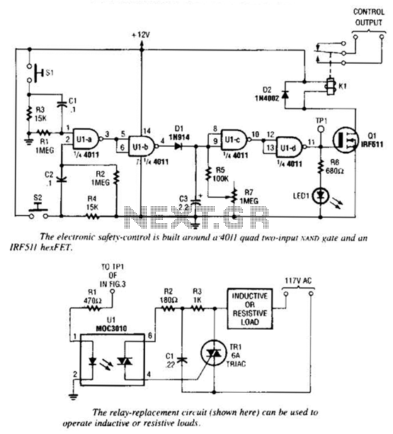 Electronic Safety Switch Circuit