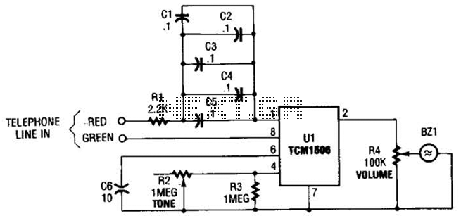 Telephone Ring Converter Circuit