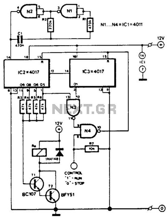 Telephone Bell Simulator Circuit
