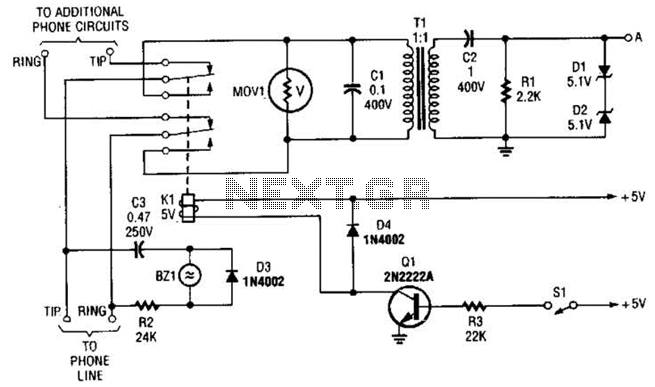 Phone Line Interface Circuit