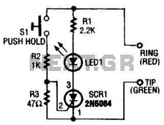 Telephone Amplifier Circuit - schematic