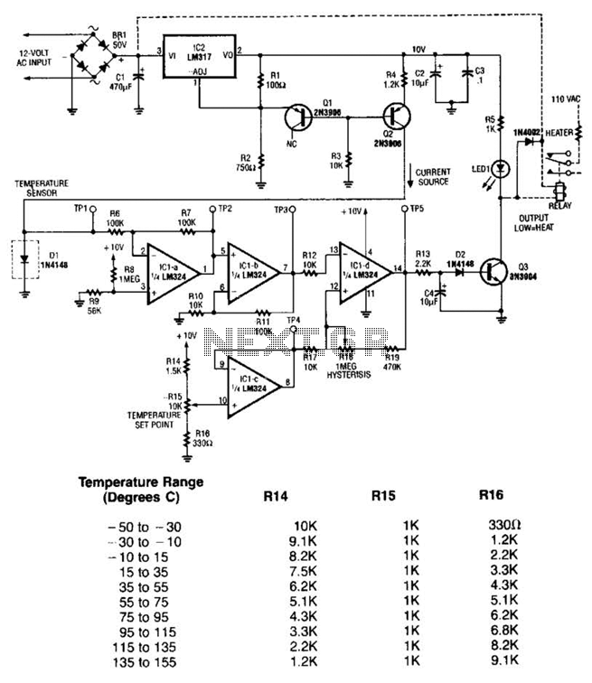 Temperature Sensor Circuit