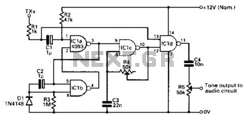 Extended On Time Timer Circuit - schematic