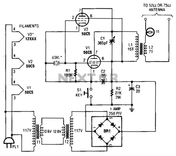 Atv Jr Transmitter 440Mhz Circuit