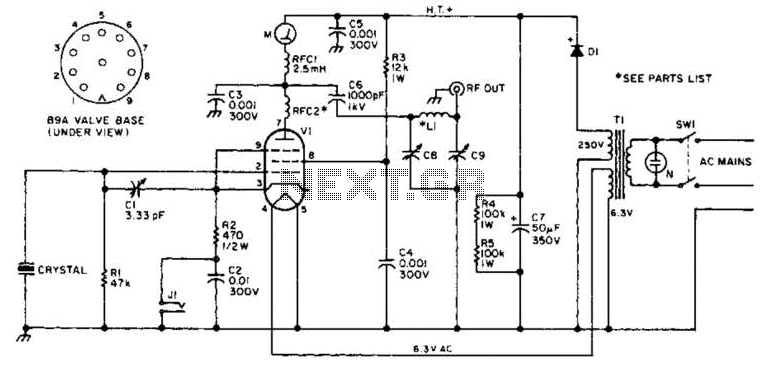 Simple Fm Transmitter Circuit - schematic