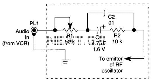 40M Cw Transmitter Circuit - schematic