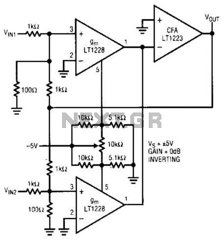 Atv Video Sampler Circuit Circuit - schematic