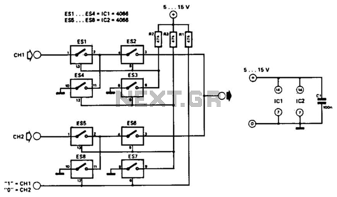 Universal Video Interface Circuit - schematic