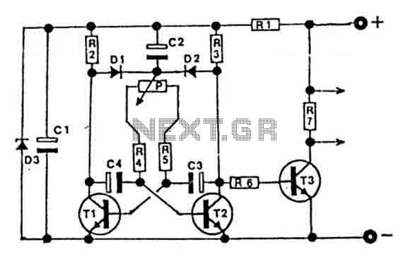 12-24V Impulse control dimmer