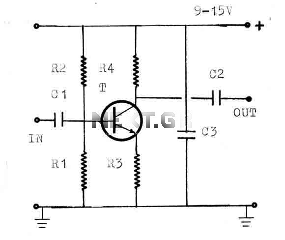 AM-FM-TV RF Amplifier