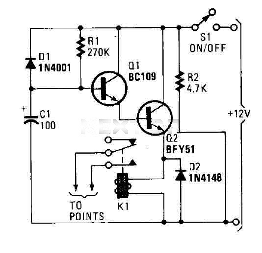 car immobilizer circuit under car bike circuits