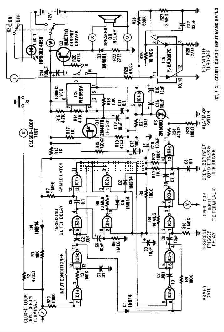 Simple House Alarm circuit - img1