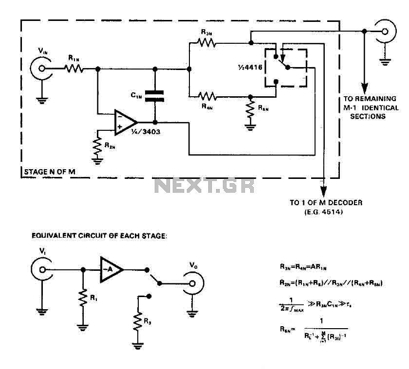 Audio input selector circuit (4416 CMOS) - img1