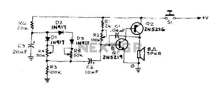 Tone Doorbell circuit