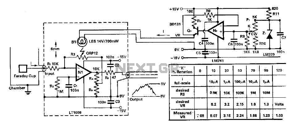 Small current amplifier circuit - img1