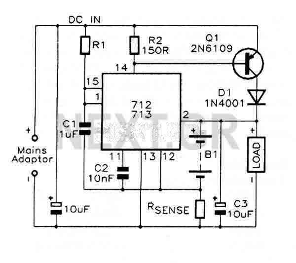 Fast charge Controller with MAX712 / MAX713
