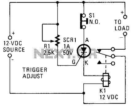 Over-voltage protection circuit - schematic
