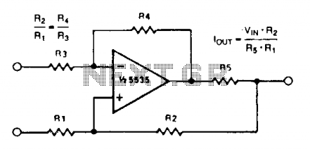 Voltage-to-current converters
