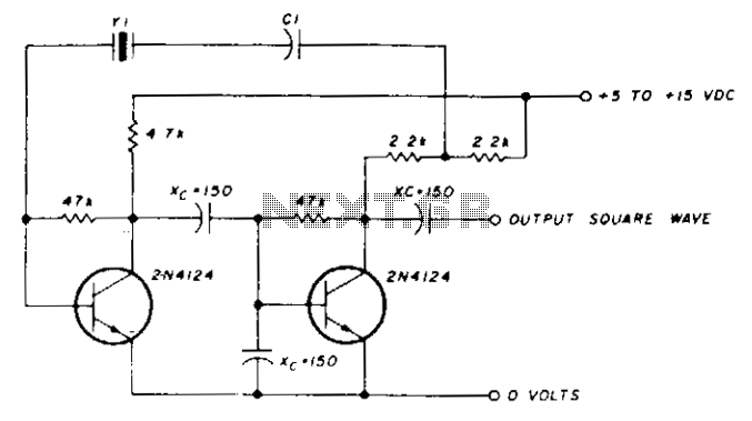 Low-frequency oscillator 10-150khz