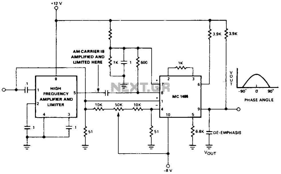 Am demodulator  - schematic
