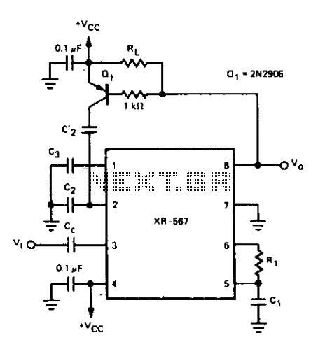 tone decoder - schematic