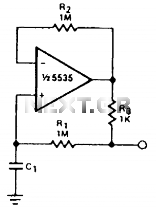 Capacitance multiplier - schematic