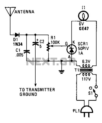 Transmission indicator  - schematic