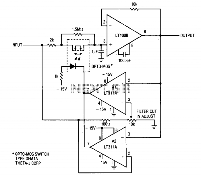 low-pass filter under audio filters circuits