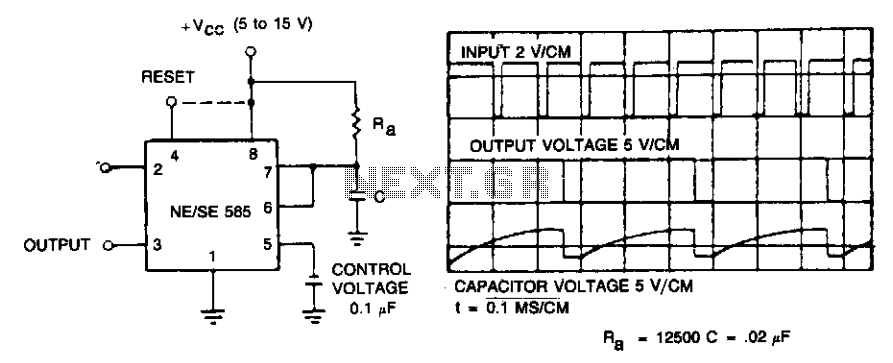 Frequency divider - schematic