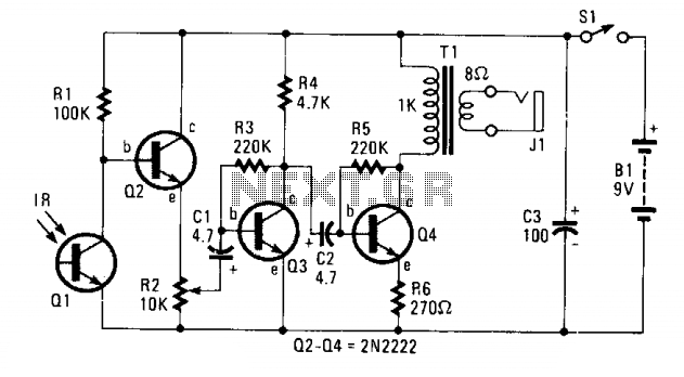 Infrared receiver  - schematic