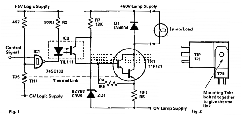 Rugged lamp driver - schematic