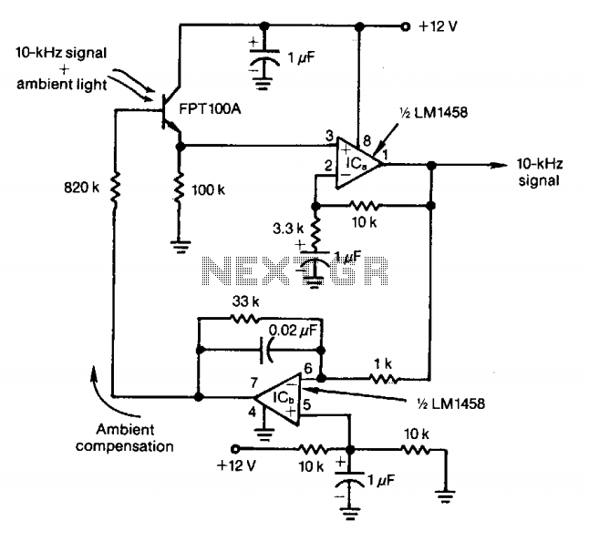 light sensor circuit page 2   sensors detectors circuits    next gr