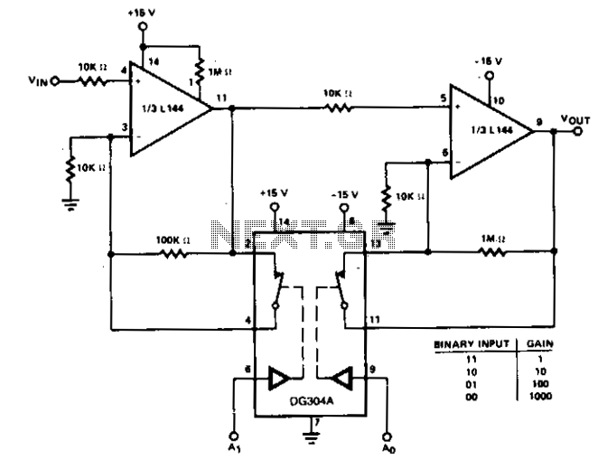 low frequency amplifier 