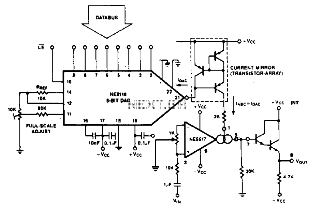 Programable amplifier
