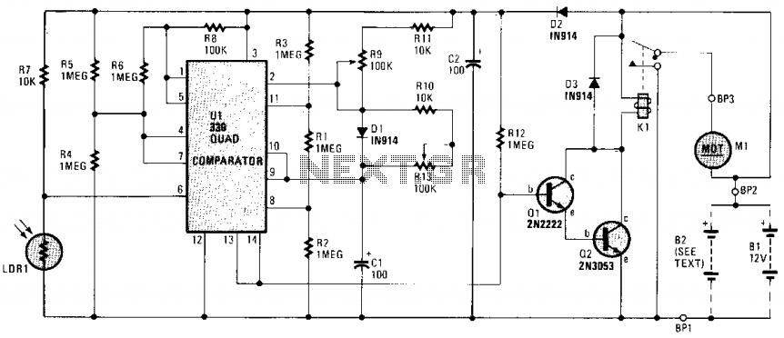 Game feeder controller - schematic