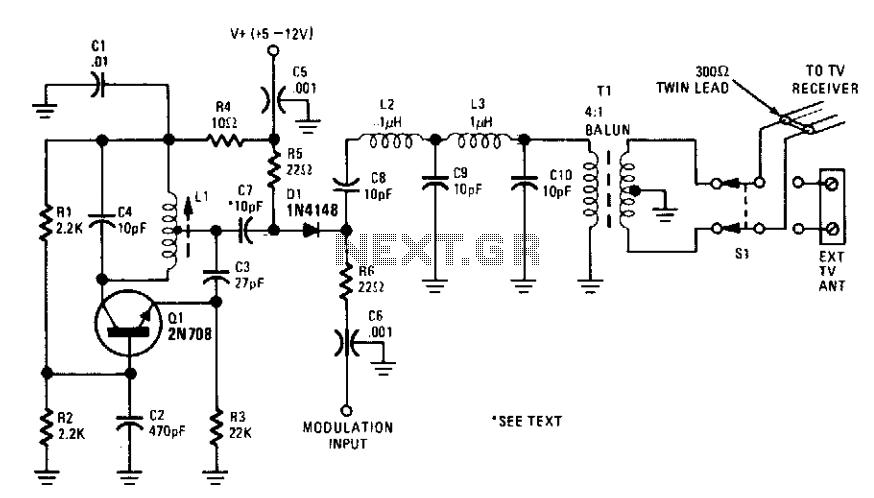 video modulator circuit   video circuits    next gr