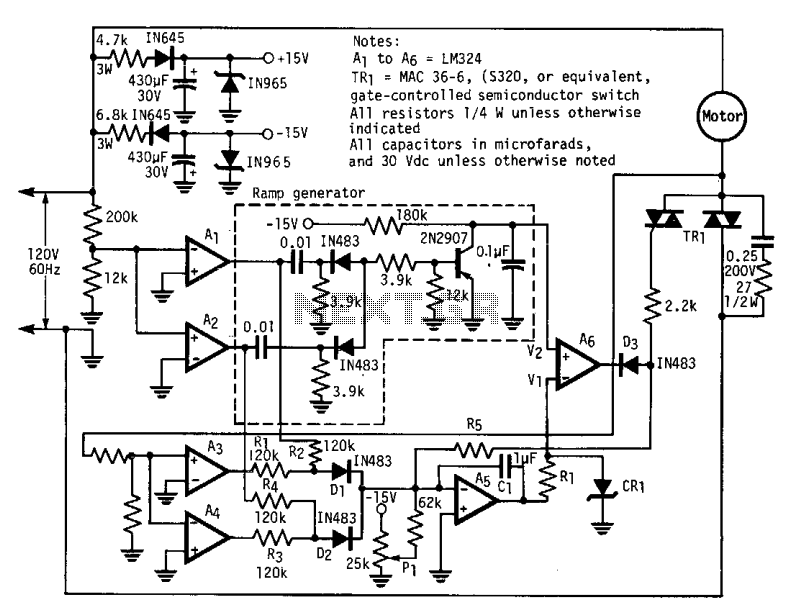 Three-phase factor controller
