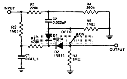 Audio Noise Filter Schematic on subwoofer power amplifier circuit diagram