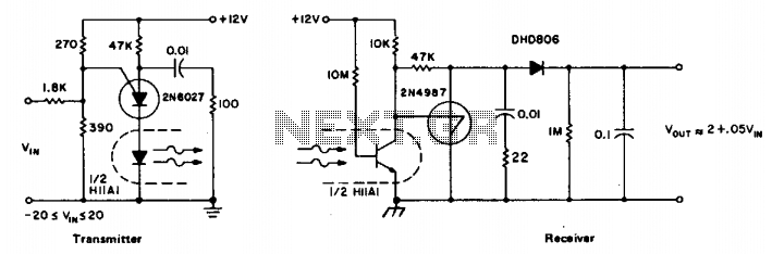 Linear analog coupler - schematic