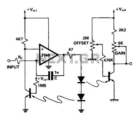 Linear optocoupler for instrumentation