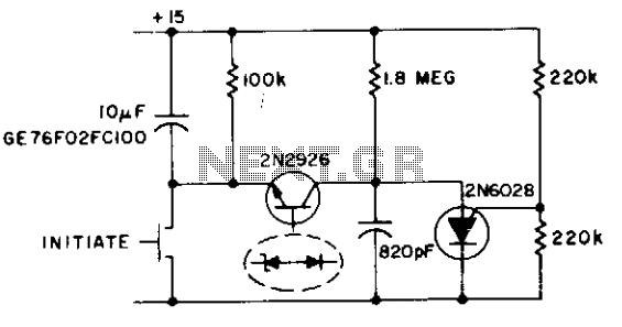 1 khz oscillator  - schematic